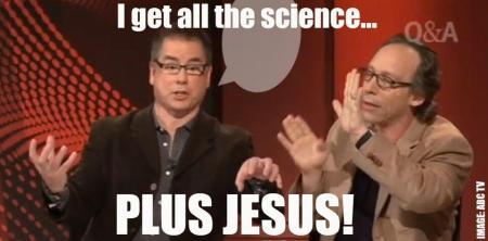 Science plus Jesus