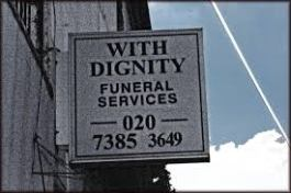 With dignity funeral services